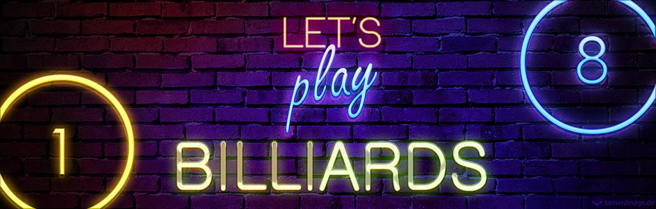 Let's play Billiards!